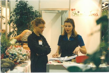 Elisa con cliente 1996