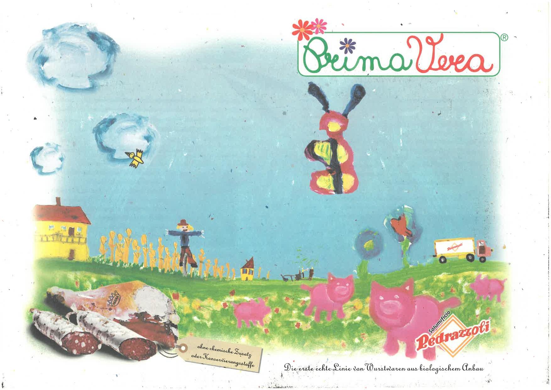 La copertina del primo catalogo PrimaVera Pedrazzoli